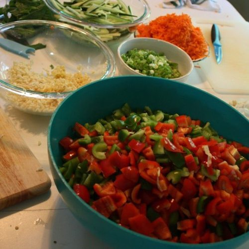 Ateliers de cuisine collective