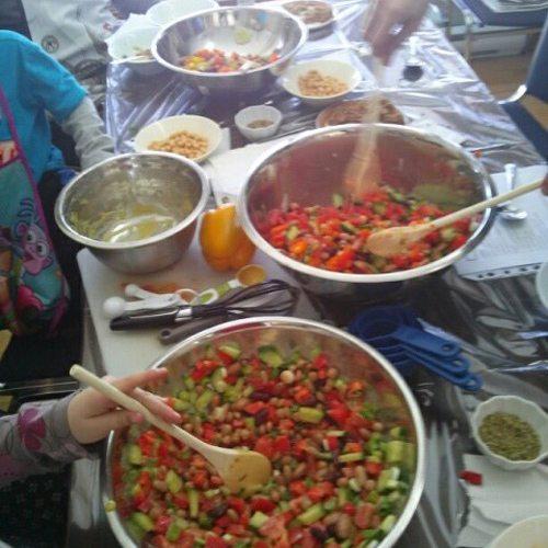Ateliers de cuisine familiale