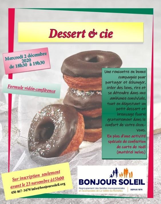 Dessert et compagnie Automne
