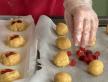 Biscuits colorés au cœur gélifié et Maïs soufflé St-Valentin décadent !